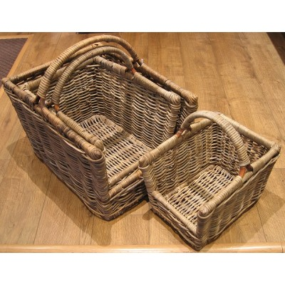 Open log basket