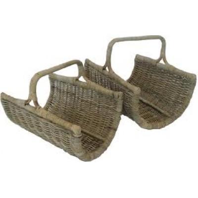 Open End log basket
