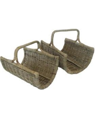 Open End log basket