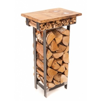 Belltrees Log and Kindling deco table