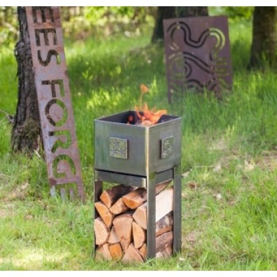 Belltrees garden fire box tall