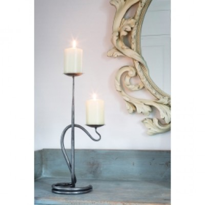 Belltree Double Round With Bowls Candlelighting