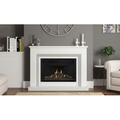 Elgin & Hall Cassius Marble Fireplace