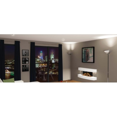 Evonic Empire 2 electric wall mounted fire