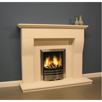 Luxus Sainte Foy Limestone Fireplace