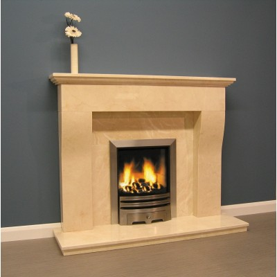Luxus Sainte Foy Marble Fireplace