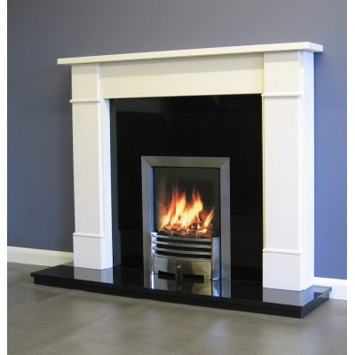 Luxus Salcombe Limestone surround mantel only