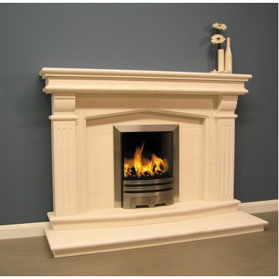 Luxus Windsor Limestone Fireplace