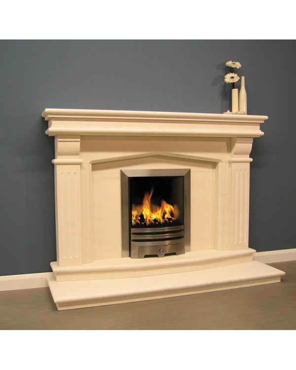 Luxus Windsor Limestone Fireplace