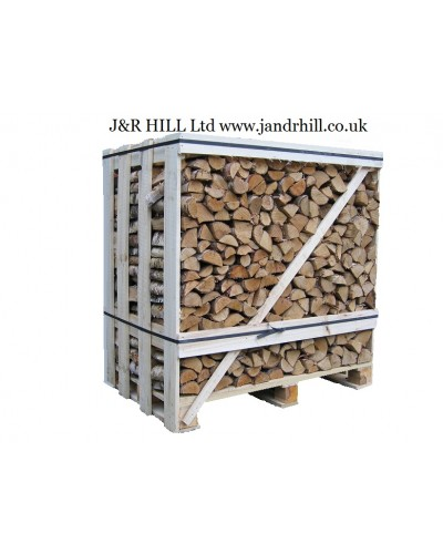 Kiln dried logs 1.2 cubic metre crate