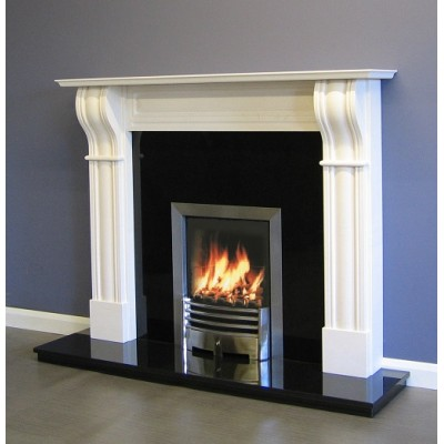 Luxus Dublin Limestone surround mantel only