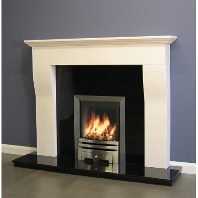 Luxus Sainte Foy Limestone surround mantel only