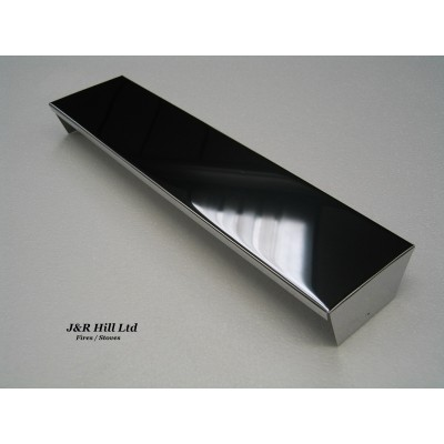 Smoke Canopy Hood Chrome