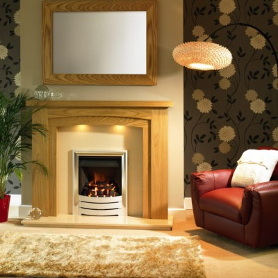 Trent Fireplaces Benidorm Arch Wooden Surround