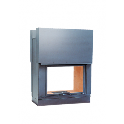 Wood burning firebox Seguin DF 1000 double sided