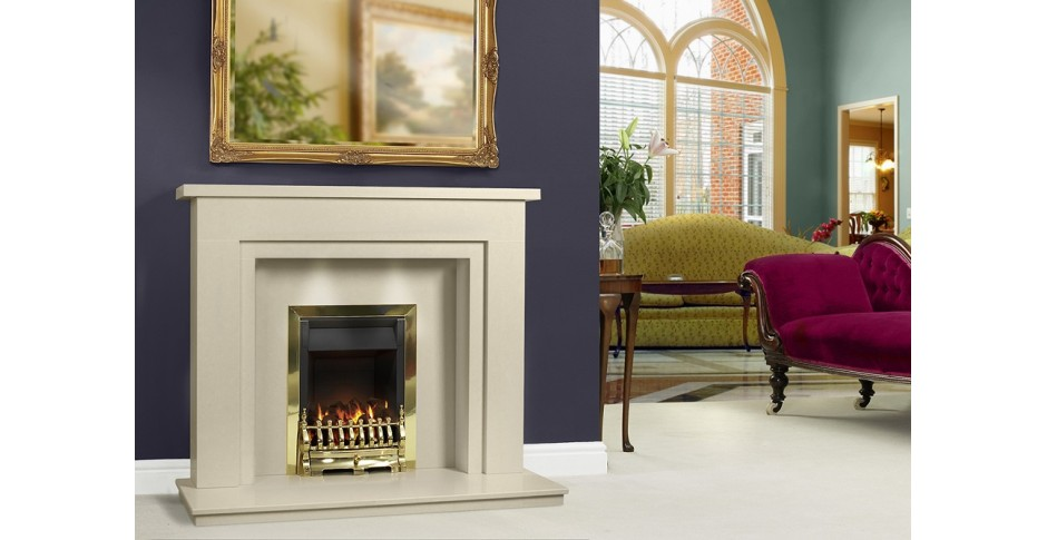 Micro Marble Fireplaces